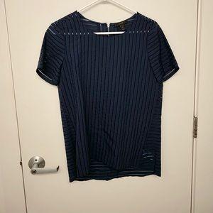 Jcrew women's short sleeve blouse